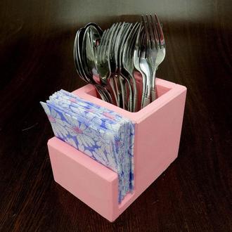 Подставка для столовых приборов Пранзо барби