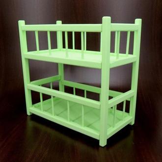 """Кровать для кукол """"Золушка"""" мохито"""