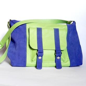 Кожаная сумка «Гвен»