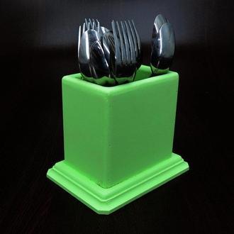 """Подставка для столовых приборов """"Дольче"""" мохито"""
