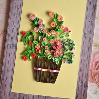 """Листівка """"Квіти"""""""