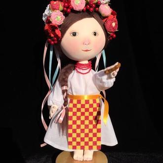 Кукла по мотивам картин Е.Гапчинской