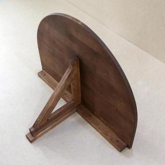 """Настенный складной столик """"Тальяменто"""" капучино"""