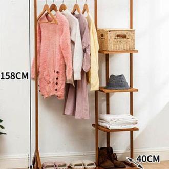 """Стійка вішалка для одягу """"Бургас 158х88"""" мускат"""