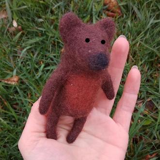 Пальчиковая игрушка Мишка