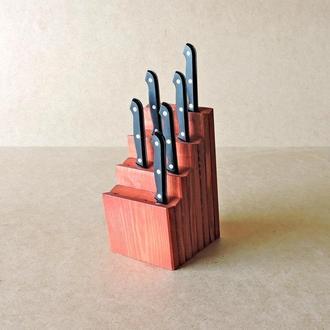 """Підставка для ножів """"Фронтера"""" корал"""