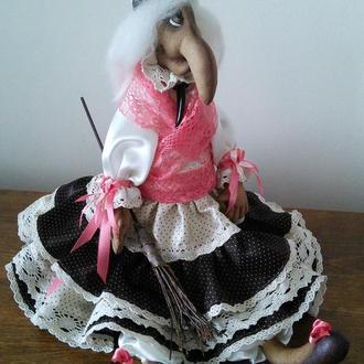 """Кукла """"Баба Яга"""""""