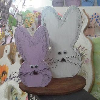Зайці - пасхальний декор