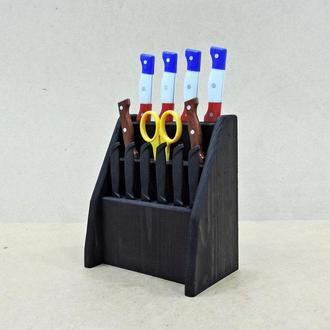 """Підставка для ножів """"Морелія люкс"""" венге"""