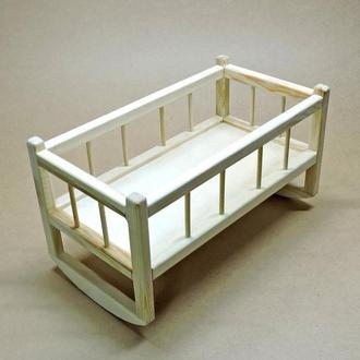 Кровать для кукол Тиана без отделки