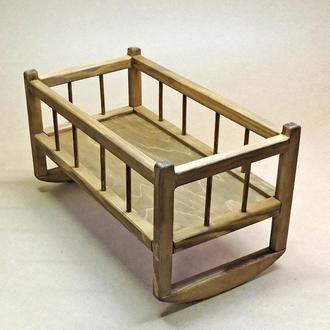 Кровать для кукол Тиана капучино