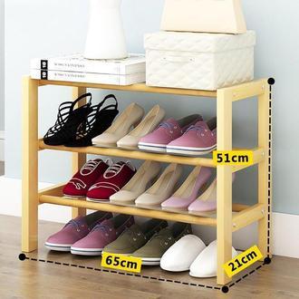 """Полка для обуви """"Золотурн 65"""" ваниль"""