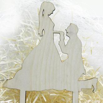 Топпер на свадебный торт Пара 1