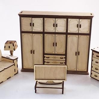 """Набор мебели для кукол """"Гостинная"""""""
