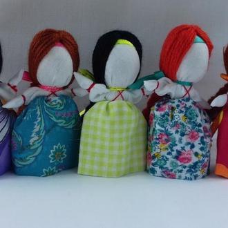 """Handmade. Женский оберег """"На счастье"""" Кукла-мотанка. Подарок."""