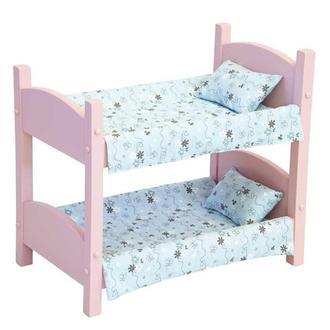 Кровать игрушечная Жизель розовая