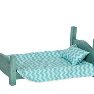 Кровать игрушечная Нала лазурь