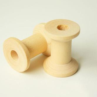 Деревянные катушки для ниток