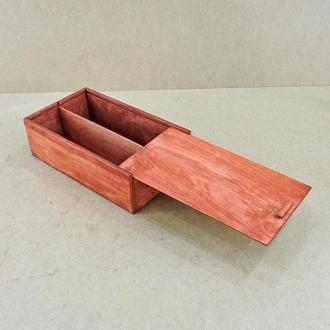 "Подарочная коробка ""Болонья"" коралл"
