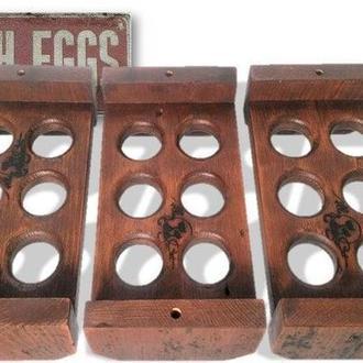 """Подставка для яиц """"Фавероль 6"""" мокко"""