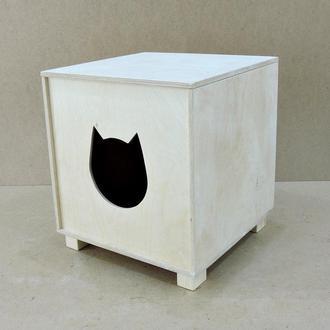 """Домик для кошки """"Барса"""" без отделки"""