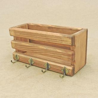 Ключница деревянная Кастелло мускат