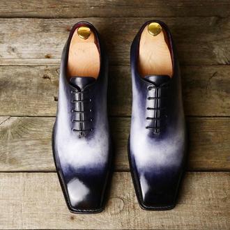 """Мужские туфли """"Оксфорды"""""""