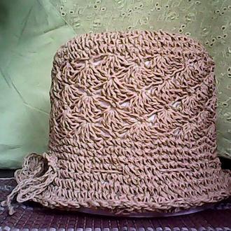 """Летняя шляпа """"Грильяж"""""""