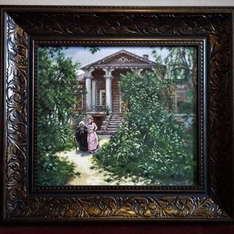"""Бабушкин сад"" (В.Д. Поленов)"