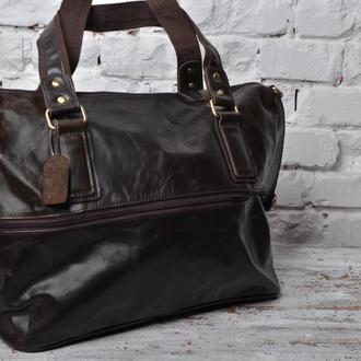 Эксклюзивная,модная,стильная мужская сумка из 100% натуральной кожи