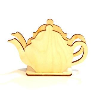 Підставка для серветок для декупажу Чайник