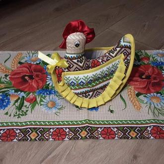 Набор текстильных аксессуаров для кухни. Украинский сувенир.