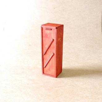 Подарочная коробка Палермо тип Г коралл