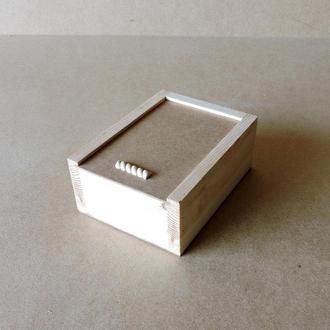 Пенал деревянный Гиацинт 15х20х8см