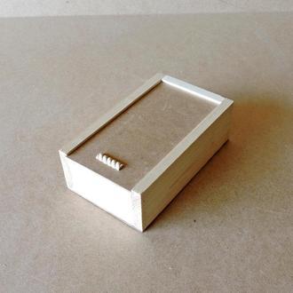 Пенал деревянный Гиацинт 15х25х8см