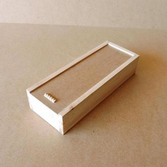 Пенал деревянный Гиацинт 15х40х8см