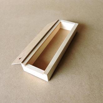 Пенал дерев'яний Конвалія 10х30х4см