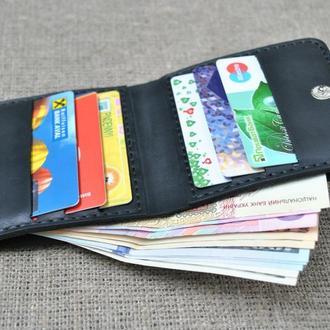 Компактный оригинальный кошелек из натуральной кожи K32-0