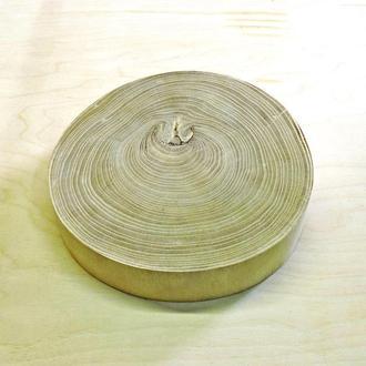 Срез (спил) шлифованный без коры 26-28см
