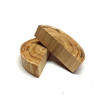 Половина зрізу (спилювання) шліфованого без кори 10-12см