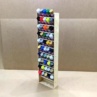 Органайзер для аэрозольных красок Челси 10 полок