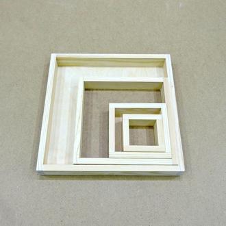 Лоток деревянный 10*20*4см (фанера)