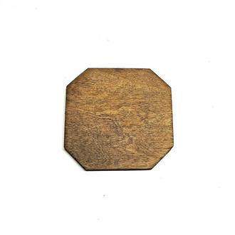 Фанерна основа для декорування 15х15 капучіно