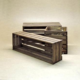 Короб для хранения Неаполь капучино В20хД25хШ30см