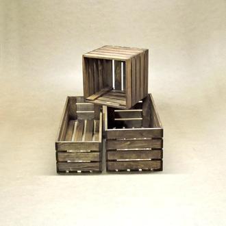 Короб для хранения Неаполь капучино В20хД30хШ40см