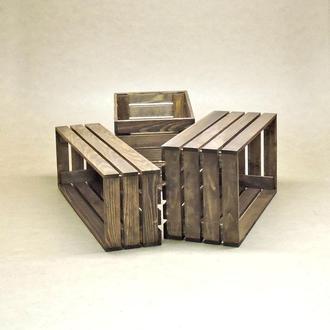 Короб для хранения Неаполь капучино В30хД20хШ30см