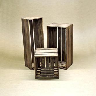 Короб для хранения Неаполь капучино В35хД15хШ20см