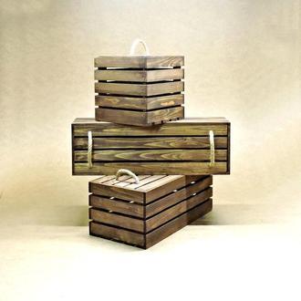 Короб для хранения Неаполь капучино В50хД40хШ60см