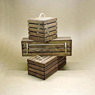 Короб для хранения Неаполь капучино В60хД15хШ40см
