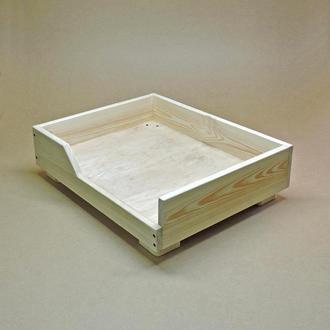 Лежак деревянный для собаки Дерби 40х50 без отделки